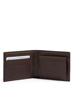 Globale Brieftasche mit Münzfach Nassau