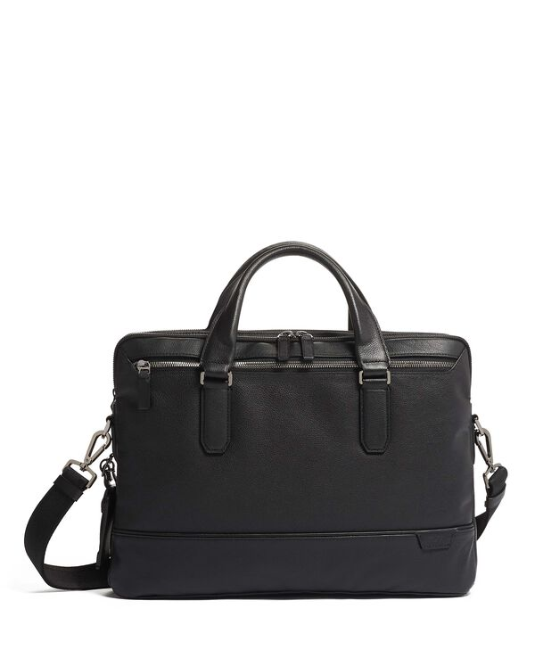 Harrison Porte-documents en cuir Slim Sycamore