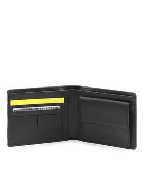 Globale Brieftasche mit Münzfach Alpha