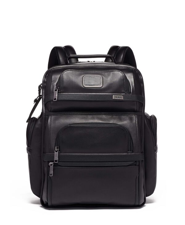Alpha 3 Zaino in pelle TUMI T-Pass® Business Class Brief Pack®