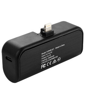 Batterie externe portable 2.600 mAh avec port LTG escamotable Electronics