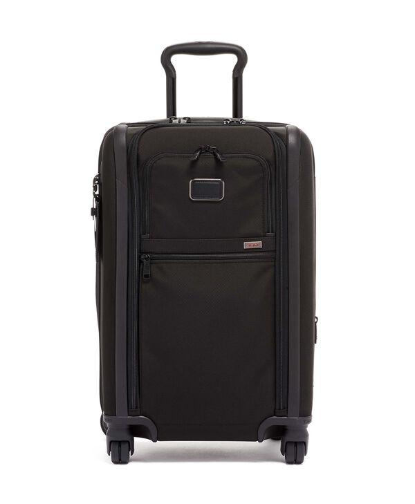 Alpha 3 Bagage à main slim à 4 roues et double accès pour voyage à l'international